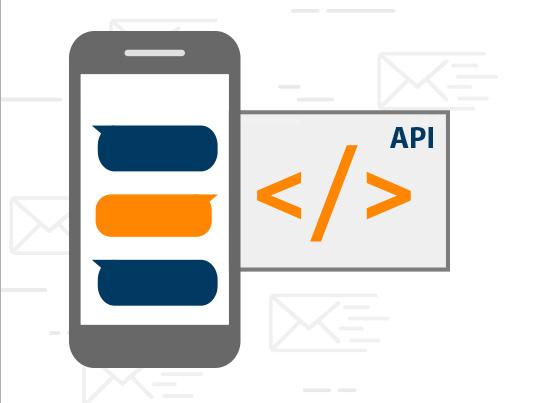 Con nuestra API tu aplicación puede enviar SMS