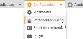 Personalice su Diseño en Mailpro