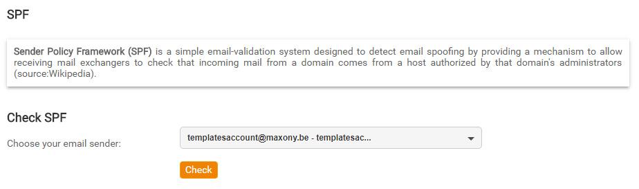Configurar SPF en Mailpro