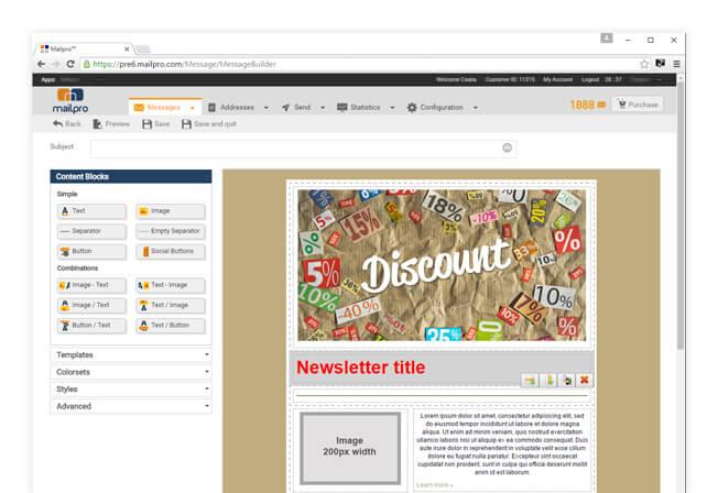 Plantillas de Newsletter gratis