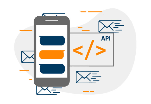 Connect to our SMS API